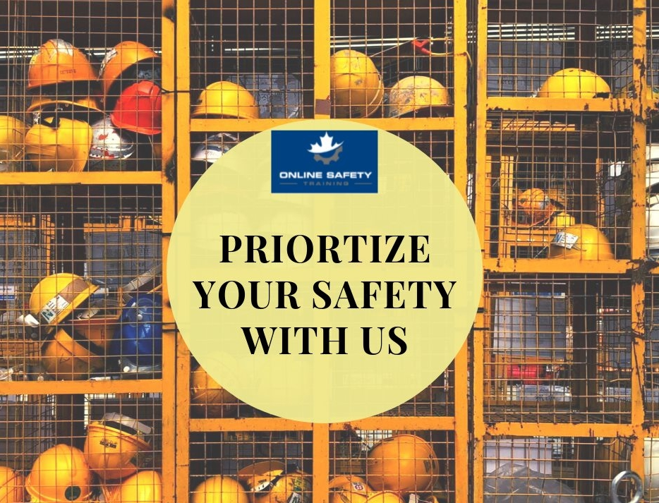 Prioritize your Safety with us